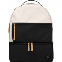 Petunia Pickle Bottom: Axis Backpack - Birch/Black