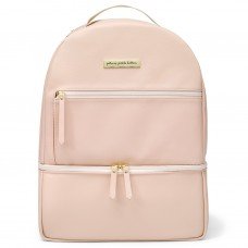 Petunia Pickle Bottom: Axis Backpack - Blush Leatherette