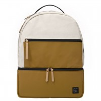 Petunia Pickle Bottom: Axis Backpack - Caramel/Black