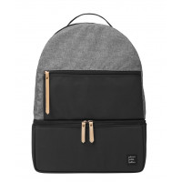 Petunia Pickle Bottom: Axis Backpack - Graphite/Black