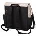 Petunia Pickle Bottom: Boxy Backpack - Sand/Black