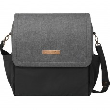 PPB - Boxy  Backpack in Graphite/Black