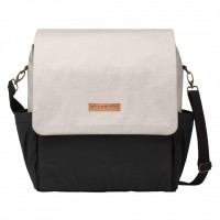 Petunia Pickle Bottom: Boxy Backpack - Birch/Black