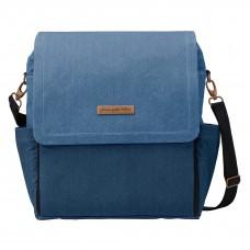 Petunia Pickle Bottom: Boxy Backpack - Denim