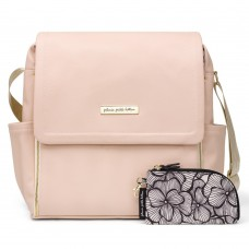 PPB Boxy Backpack in Blush Leatherette
