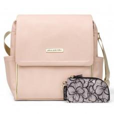 Petunia Pickle Bottom: Boxy Backpack - Blush Leatherette