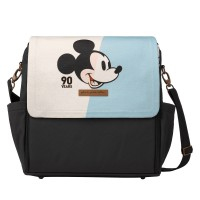 Petunia Pickle Bottom: Boxy Backpack - Disney Mickey's 90th Anniversary Blue Colorplane