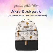 Petunia Pickle Bottom: Axis Backpack - Sketchbook Winnie the Pooh and Friends