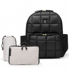 Petunia Pickle Bottom: District Backpack - Shadow (Quilted)