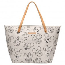 Petunia Pickle Bottom: Downtown Tote - Sketchbook Mickey and Minnie