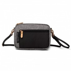 Petunia Pickle Bottom: Adventurer Belt Bag - Graphite and Black