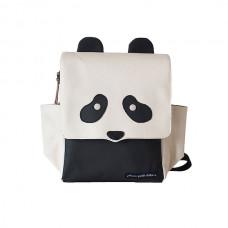 Petunia Pickle Bottom: Mini Me Backpack - Black Panda
