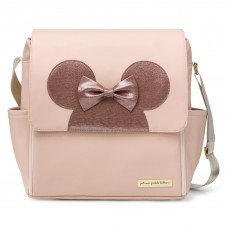 PPB - Boxy Backpack in Minnie Factor Blush & Metallic Leatherette