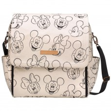 PPB - Boxy Backpack In Sketchbook Mickey & Minnie
