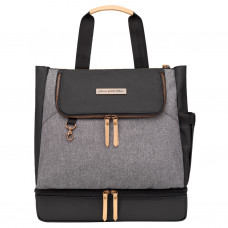 Petunia Pickle Bottom: Pivot Pack - Graphite/Black (OOS - Available in Nov '20)