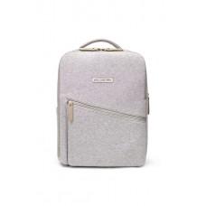 Petunia Pickle Bottom: Work + Play Backpack - Grey Neoprene
