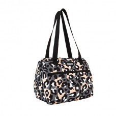 PackIT Hampton Lunch Bag - Wild Leopard Gray