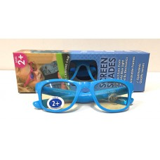 Real Shades Screen Shades 2plus - Neon Blue
