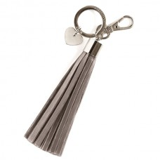 Firefly Tassel Reflectors - Taupe Silver