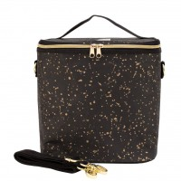 SoYoung Lunch Poches - Black Paper Gold Splatter