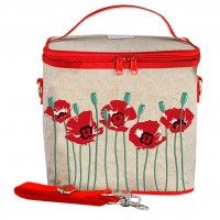 SoYoung Large Cooler Bag - Red Poppy
