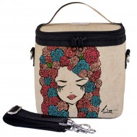 SoYoung Large Cooler Bag - Pixopop Roses Girl