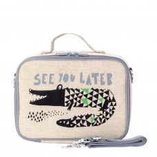 SoYoung - LunchBox Bag - Wee Gallery Alligator