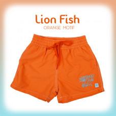 Splashabout: Board Shorts - Lion Fish (Orange)