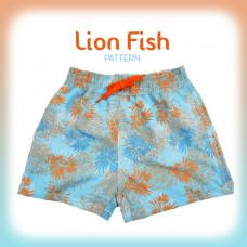 Splashabout: Board Shorts - Lion Fish (Pattern)