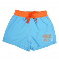 Splashabout: UV Board Shorts (Motif) in Lion Fish (Blue) - 1-2yrs