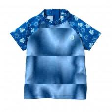 Splashabout: UV Rash Top (Short Sleeves) in Turtle Mania - 1-2yrs