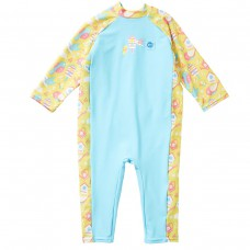 Splashabout: Toddler UV Sunsuit in Garden Birds - 2-3yrs