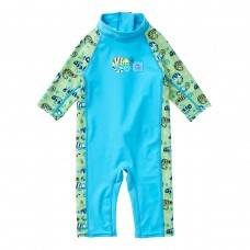 Splashabout Toddler UV Sunsuit - Green Gecko 3-4 Years