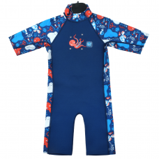 Splashabout: Toddler UV Sunsuit in Under the Sea - 2-3yrs