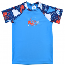 Splashabout: UV Rash Top (Short Sleeves) in Under The Sea - 1-2yrs