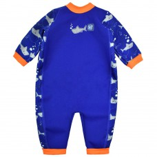 Splashabout: Warm In One in Shark Orange - XL 12-24mth