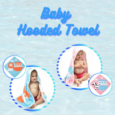 SplashAbout: Baby Hooded Towel