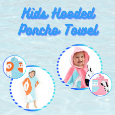 SplashAbout: Kids Hooded Poncho Towel