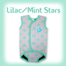Splashabout: BabyWrap - Lilac/Mint Stars