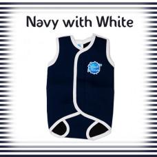 Splashabout: BabyWrap - Navy with White