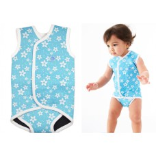 Splashabout: Babywrap in Blue Blossoms - L 18-30mth