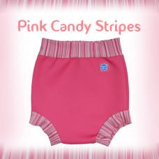 Splashabout: Happy Nappy - Pink Candy Stripes