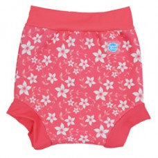 Splashabout: Happy Nappy in Pink Blossom - M 3-6mth