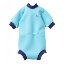 Splashabout: Happy Nappy Wetsuit in Blue Cobalt - L 6-14mth