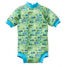 Splashabout: Happy Nappy Wetsuit in Green Gecko - L 6-14mth