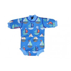 Splashabout: Happy Nappy Wetsuit in Set Sail - M 3-8mth