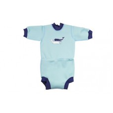 Splashabout: Happy Nappy Wetsuit in Vint Moby - L 6-14mth (Indonesia Only)