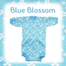 Splashabout: Happy Nappy Wetsuit - Blue Blossom