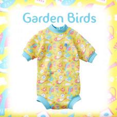 Splashabout: Happy Nappy Wetsuit - Garden Birds