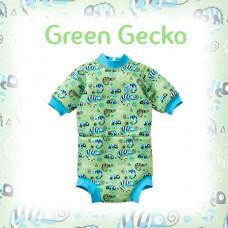 Splashabout: Happy Nappy Wetsuit - Green Gecko